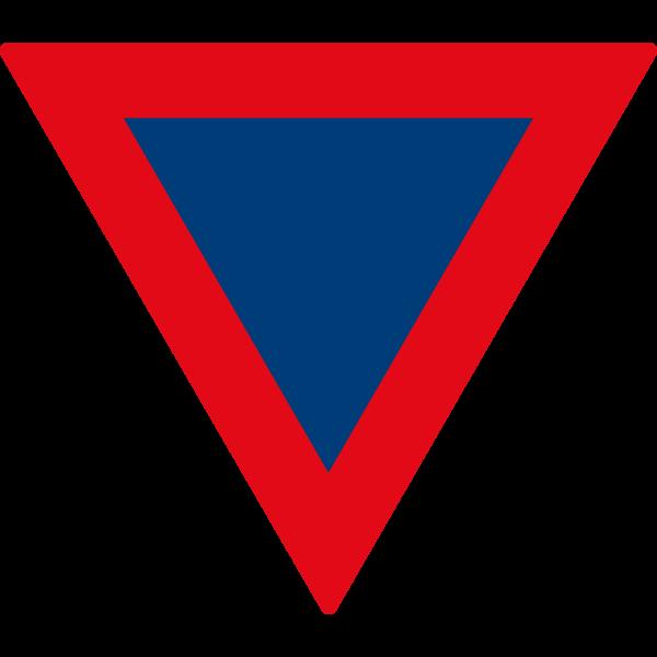 SACU road sign R2 ,Logo , icon , SVG SACU road sign R2