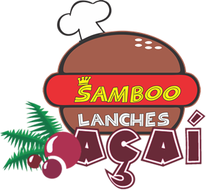 Samboo Lanches e Açaí Logo ,Logo , icon , SVG Samboo Lanches e Açaí Logo