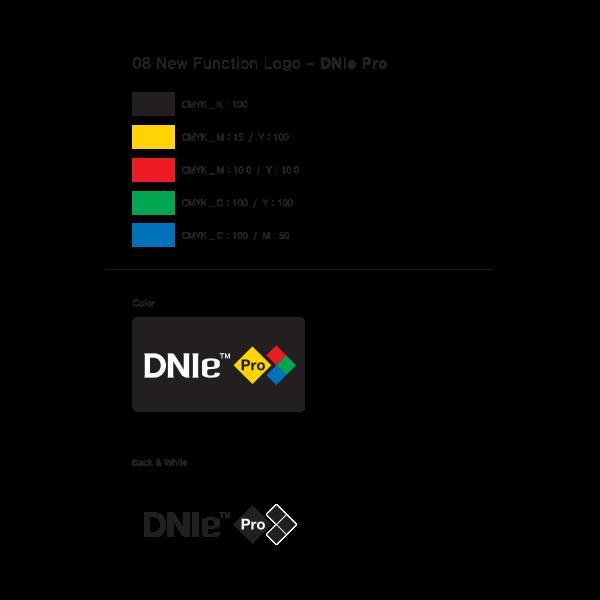 Samsung DNIe Pro Logo ,Logo , icon , SVG Samsung DNIe Pro Logo