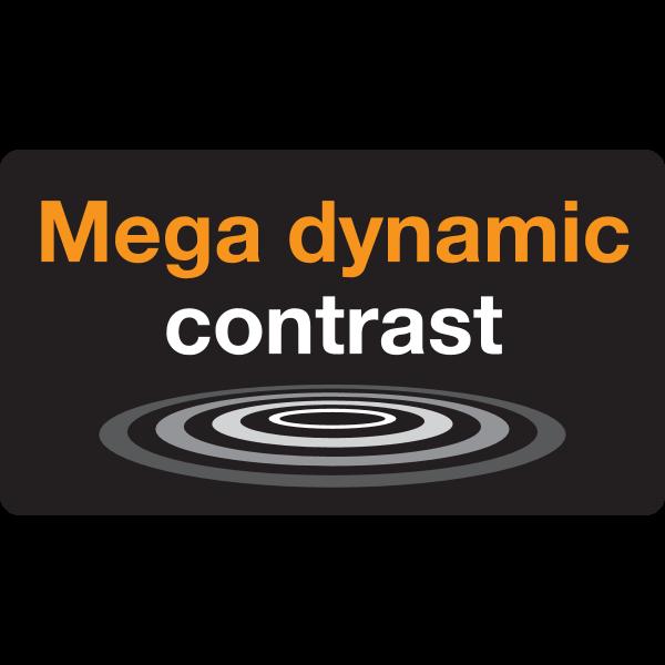 Samsung mega contrast Logo ,Logo , icon , SVG Samsung mega contrast Logo