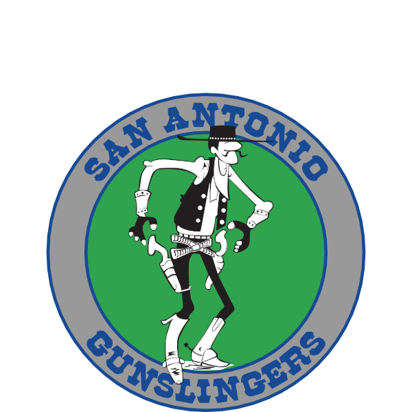 San Antonio Gunslingers Logo ,Logo , icon , SVG San Antonio Gunslingers Logo