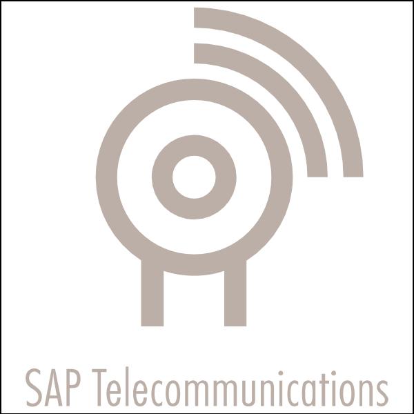 SAP Telecommunications Logo ,Logo , icon , SVG SAP Telecommunications Logo