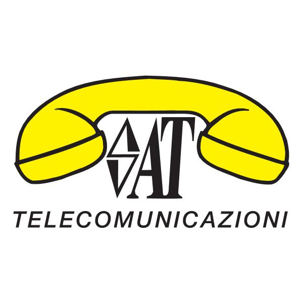 SAT Telecomunicazioni Logo ,Logo , icon , SVG SAT Telecomunicazioni Logo