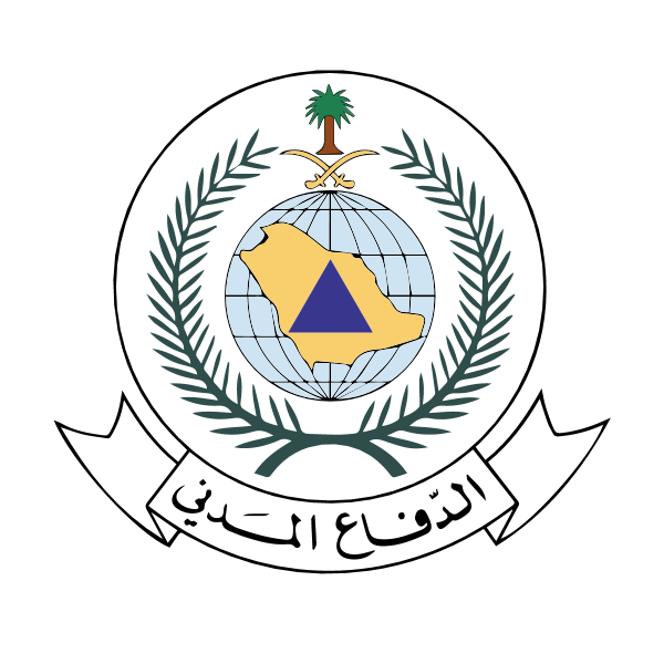 saudi civil defenses ,Logo , icon , SVG saudi civil defenses