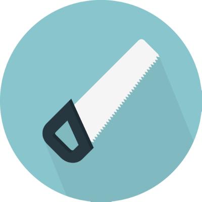 saw ,Logo , icon , SVG saw