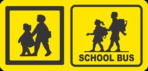 school bus Logo ,Logo , icon , SVG school bus Logo