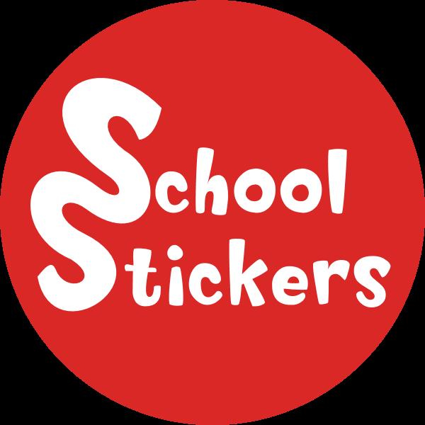 School Stickers Logo ,Logo , icon , SVG School Stickers Logo