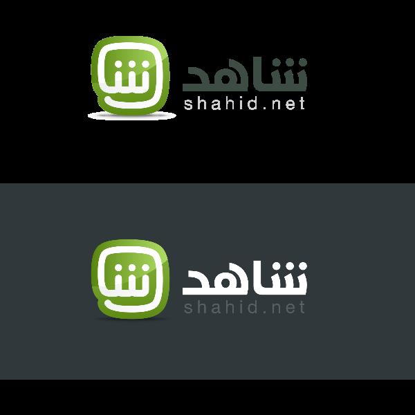 شعار شاهد ,Logo , icon , SVG شعار شاهد