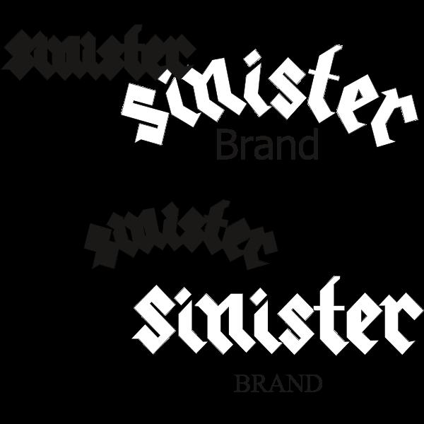 Sinister Brand Logo ,Logo , icon , SVG Sinister Brand Logo