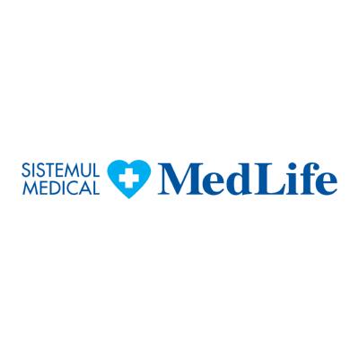 sistemul medical medlife ,Logo , icon , SVG sistemul medical medlife
