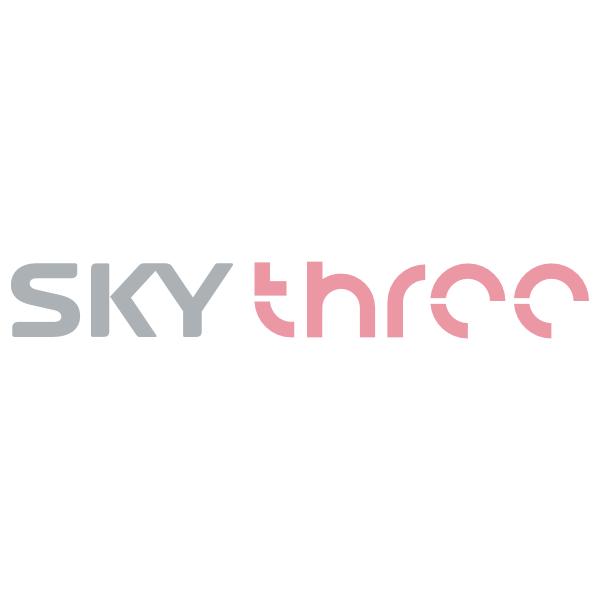 Sky Three Logo ,Logo , icon , SVG Sky Three Logo