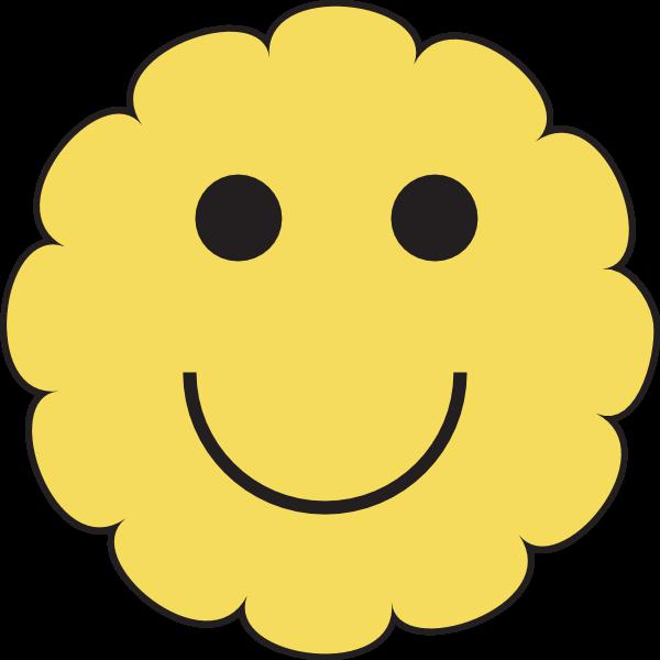 SMILING SUN WEATHER SYMBOL Logo ,Logo , icon , SVG SMILING SUN WEATHER SYMBOL Logo