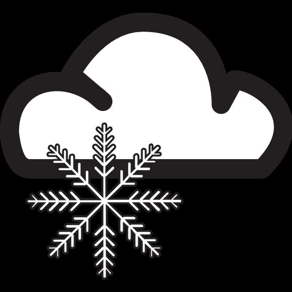 SNOW WEATHER SYMBOL Logo ,Logo , icon , SVG SNOW WEATHER SYMBOL Logo