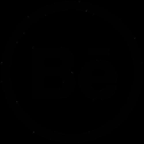 Behance ,Logo , icon , SVG Behance