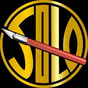 solo Sticker Logo ,Logo , icon , SVG solo Sticker Logo