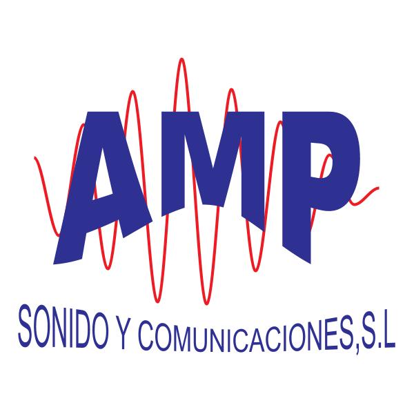 Sonido y Comunicaciones AMP Logo ,Logo , icon , SVG Sonido y Comunicaciones AMP Logo