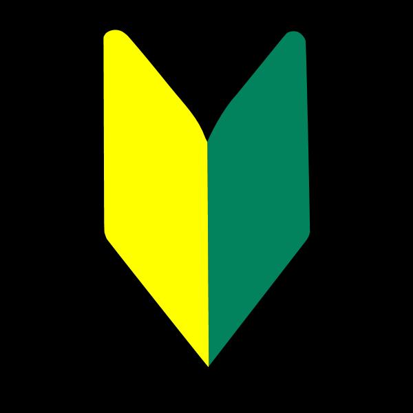 Soshinoya New Driver Badge Logo ,Logo , icon , SVG Soshinoya New Driver Badge Logo