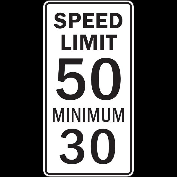 SPEED LIMIT 50 MINIMUM 30 ROAD SIGN Logo ,Logo , icon , SVG SPEED LIMIT 50 MINIMUM 30 ROAD SIGN Logo