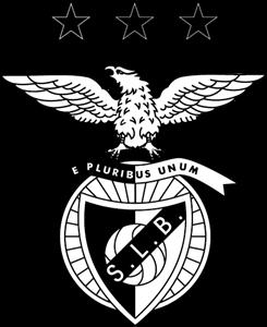 Sport Lisboa e Benfica – Monochrome Logo ,Logo , icon , SVG Sport Lisboa e Benfica – Monochrome Logo