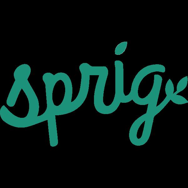 sprig ,Logo , icon , SVG sprig
