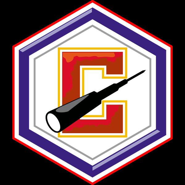 Stakhanovets Stalno (FC Shakhtar Donetsk) 1936-40s Logo ,Logo , icon , SVG Stakhanovets Stalno (FC Shakhtar Donetsk) 1936-40s Logo