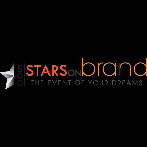 Stars On Brand Logo ,Logo , icon , SVG Stars On Brand Logo