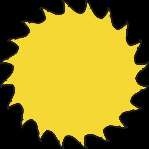 SUN WEATHER SYMBOL Logo ,Logo , icon , SVG SUN WEATHER SYMBOL Logo