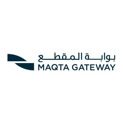 شعار بوابة المقطع MAQTA GATEWAY ,Logo , icon , SVG شعار بوابة المقطع MAQTA GATEWAY