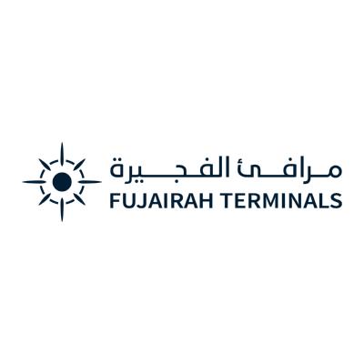 شعار مرفئ الفجيرة FUJAIRAH TERMINALS ,Logo , icon , SVG شعار مرفئ الفجيرة FUJAIRAH TERMINALS