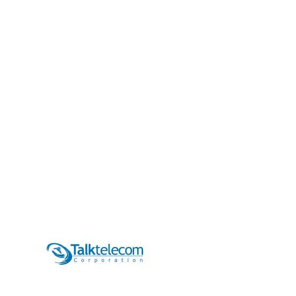 Talktelecom Corporation Logo ,Logo , icon , SVG Talktelecom Corporation Logo
