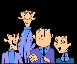 The Beatles cartoon Logo ,Logo , icon , SVG The Beatles cartoon Logo