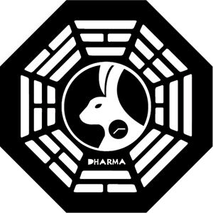 The DHARMA initiative – Looking Glass Station Logo ,Logo , icon , SVG The DHARMA initiative – Looking Glass Station Logo