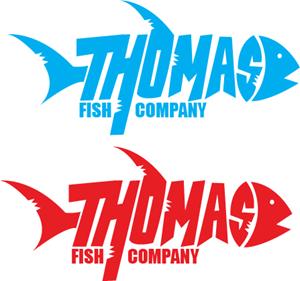 Thomas Fish Logo ,Logo , icon , SVG Thomas Fish Logo