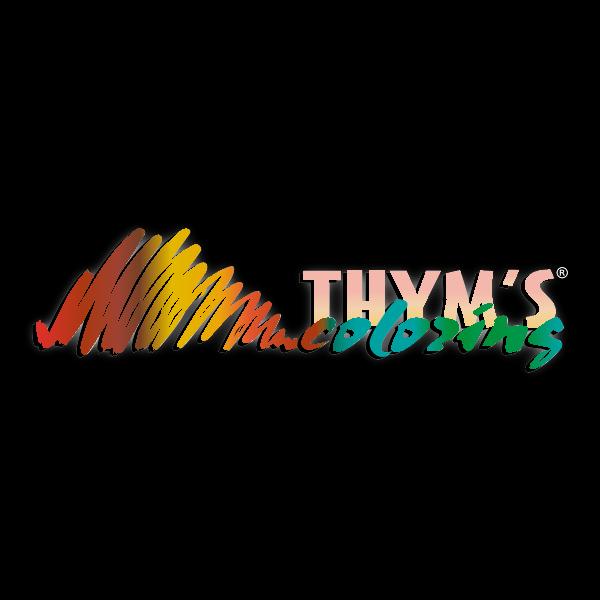 Thym's Coloring Logo ,Logo , icon , SVG Thym's Coloring Logo