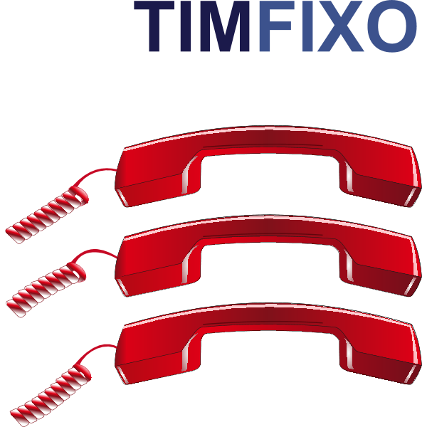 TIM FIXO Logo ,Logo , icon , SVG TIM FIXO Logo