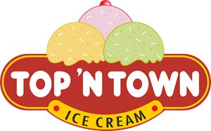 Top 'N' Town Ice Cream Logo ,Logo , icon , SVG Top 'N' Town Ice Cream Logo