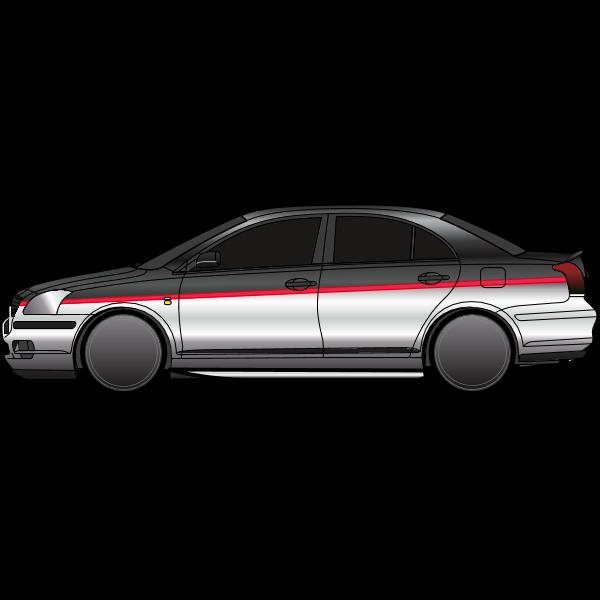 Toyota avensis Logo ,Logo , icon , SVG Toyota avensis Logo