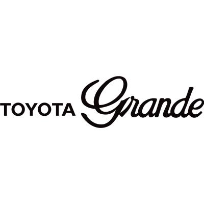 Toyota Grande Logo ,Logo , icon , SVG Toyota Grande Logo