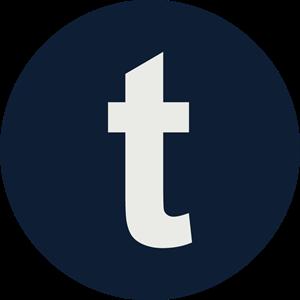Tumblr Icon Logo ,Logo , icon , SVG Tumblr Icon Logo
