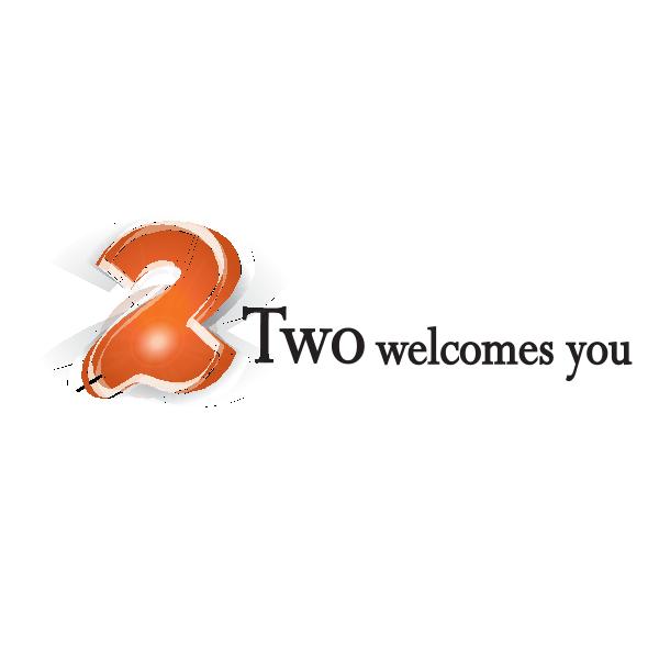 Two Logo ,Logo , icon , SVG Two Logo