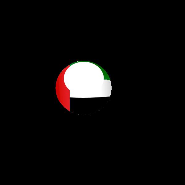 UAE Round Flag Logo ,Logo , icon , SVG UAE Round Flag Logo