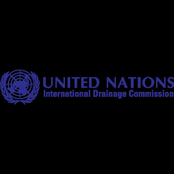 United Nations International Drainage Commission Logo ,Logo , icon , SVG United Nations International Drainage Commission Logo