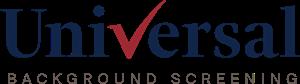 Universal Background Screening Logo ,Logo , icon , SVG Universal Background Screening Logo