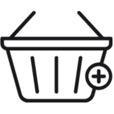 add to basket ,Logo , icon , SVG add to basket