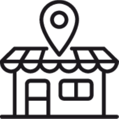 local market place ,Logo , icon , SVG local market place