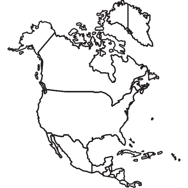 USA CANADA MEXICO MAP Logo ,Logo , icon , SVG USA CANADA MEXICO MAP Logo