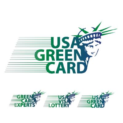 USA Green Card Green Card Experts USA Visa Lottery Logo ,Logo , icon , SVG USA Green Card Green Card Experts USA Visa Lottery Logo