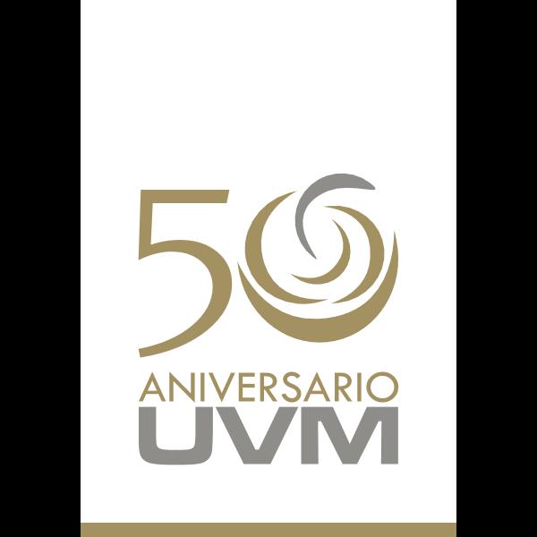 UVM – 50 Años Logo ,Logo , icon , SVG UVM – 50 Años Logo