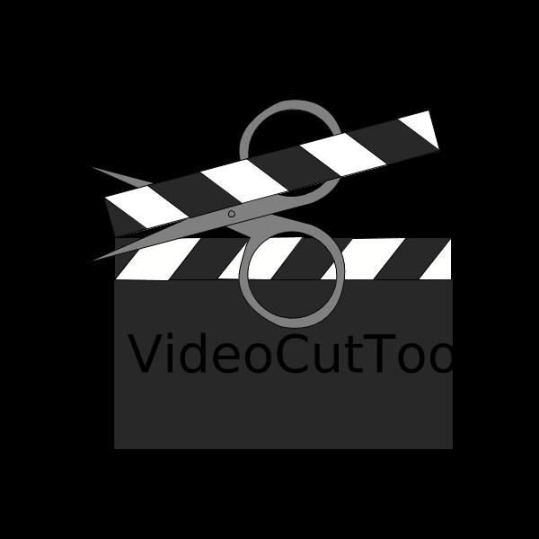 VideoCutTool Cut ,Logo , icon , SVG VideoCutTool Cut