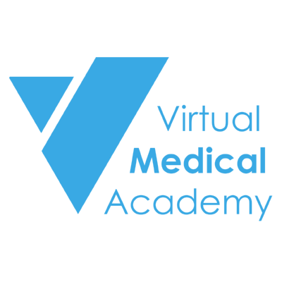 Virtual Medical academy ,Logo , icon , SVG Virtual Medical academy